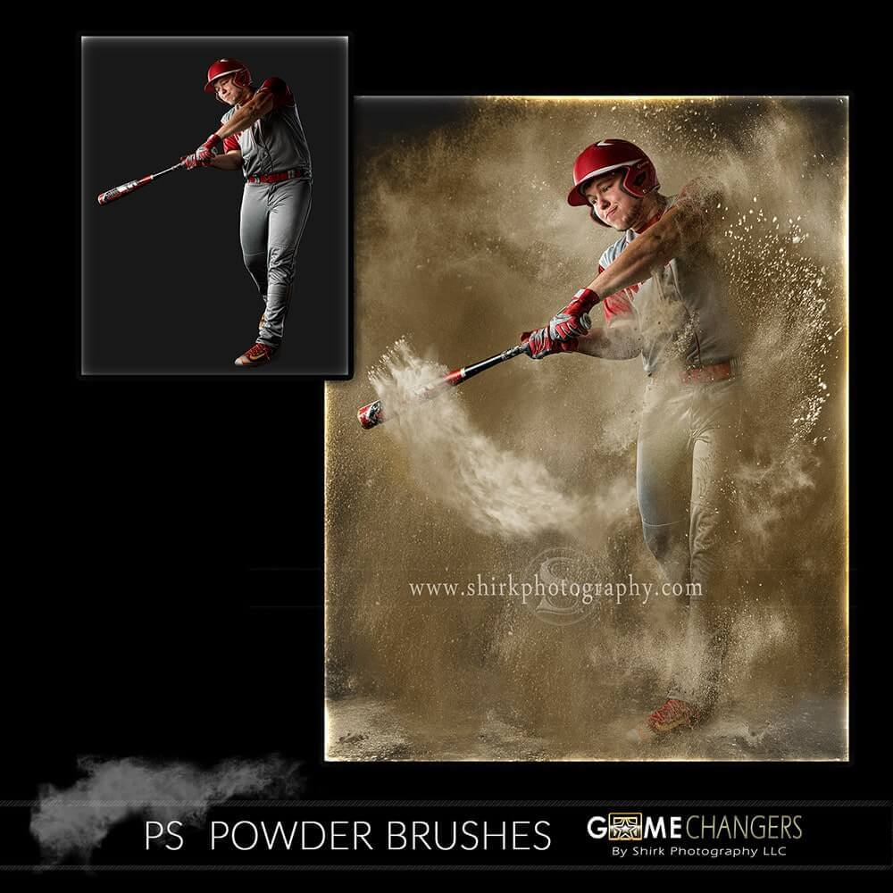 Powder Photoshop Brush Collection + Tutorial ⋆ Game Changers by Shirk  Photography LLC