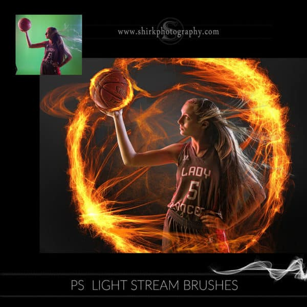 light stream photoshop brushes basketball fire game changers by shirk photography