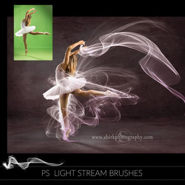 light stream photoshop brushes dance pink game changers by shirk photography