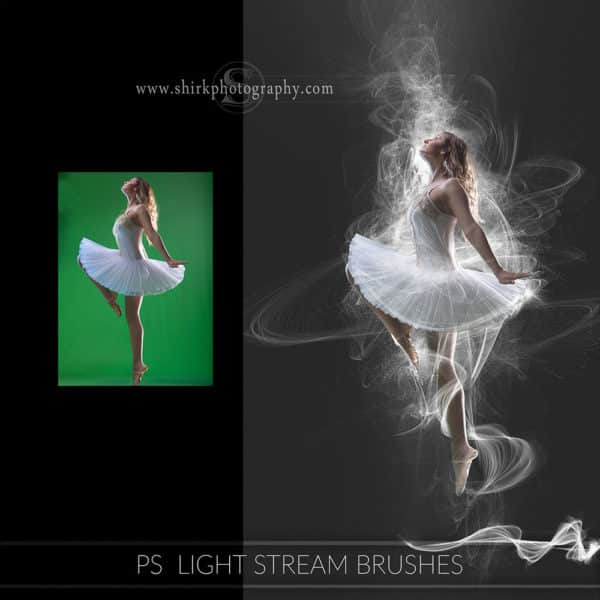 light stream photoshop brushes dance game changers by shirk photography