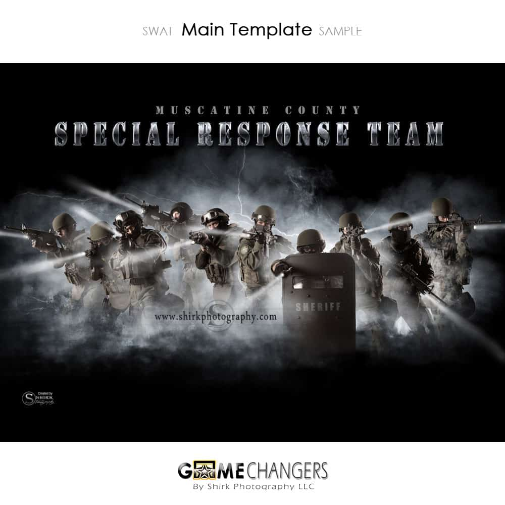 SWAT Photoshop Template ⋆ Game Changers By Shirk