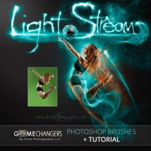 light stream photoshop brushes game changers by shirk photography