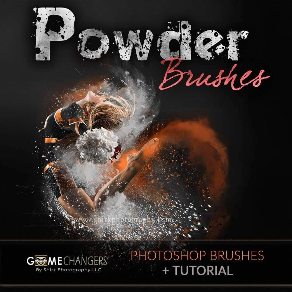 Powder Photoshop Brush Collection + Tutorial