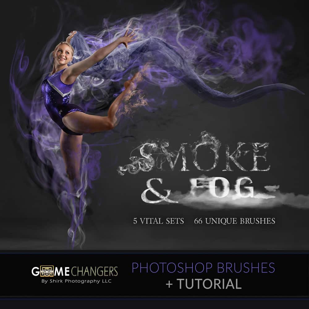 Smoke & Fog Photoshop Brush Collection + Tutorial
