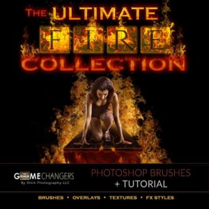 Ultimate Fire Collection for Photoshop: Brushes and More
