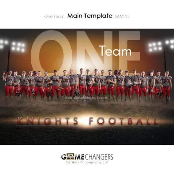 Football Photoshop Template Sports Team Poster Banner Creative Dirt Lights One Digital Background Ideas Photographers