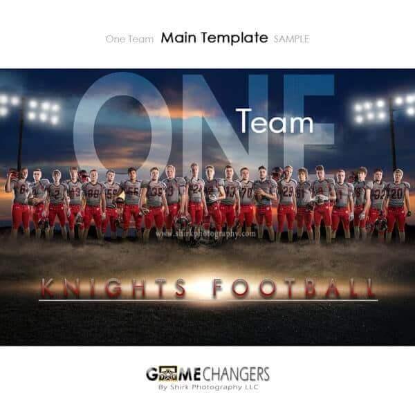 Football Photoshop Template Sports Team Poster Banner Creative Dirt Lights Sunset Digital Background Ideas Photographers