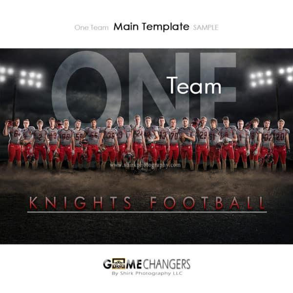 Football Photoshop Template Sports Team Poster Banner Creative Dirt Lights Night Digital Background Ideas Photographers
