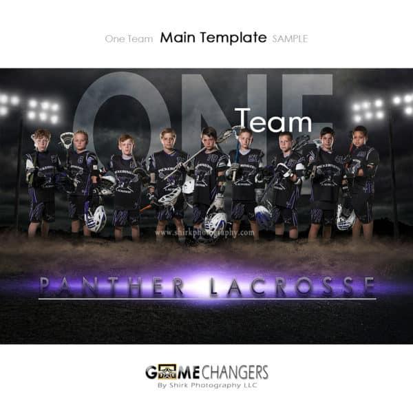 Lacrosse Photoshop Template Sports Team Poster Banner Creative Dirt Lights Night Digital Background Ideas Photographers
