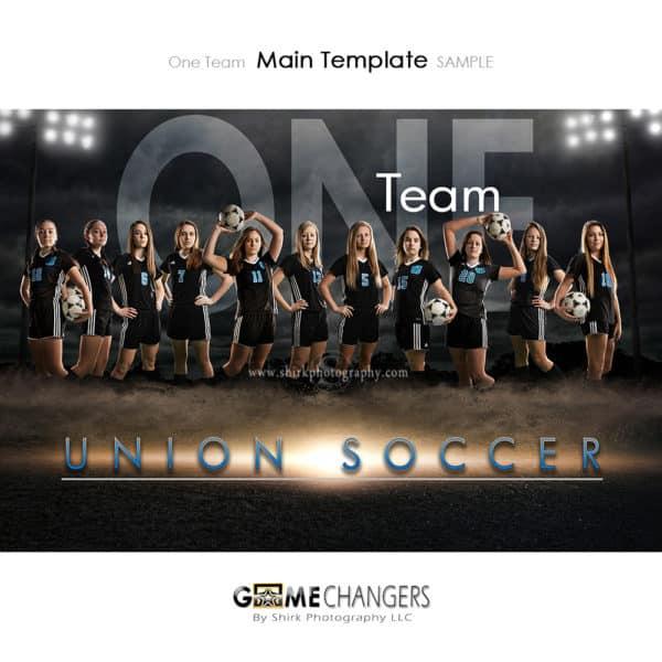 Soccer Photoshop Template Sports Team Poster Banner Creative Dirt Lights Night Digital Background Ideas Photographers