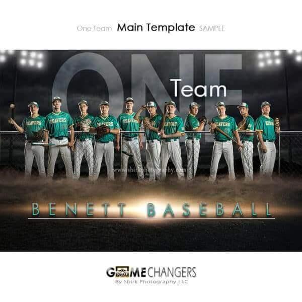 Baseball Photoshop Template Sports Team Poster Banner Creative Field Lights Night Digital Background Ideas Photographers