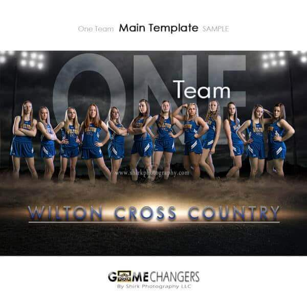 Cross Country Photoshop Template Sports Team Poster Banner Creative Dirt Lights Night Digital Background Ideas Photographers