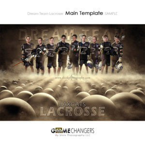 Lacrosse Sports Team Poster Banner Creative Dream Fog Digital Background Photoshop Template Ideas Photographers