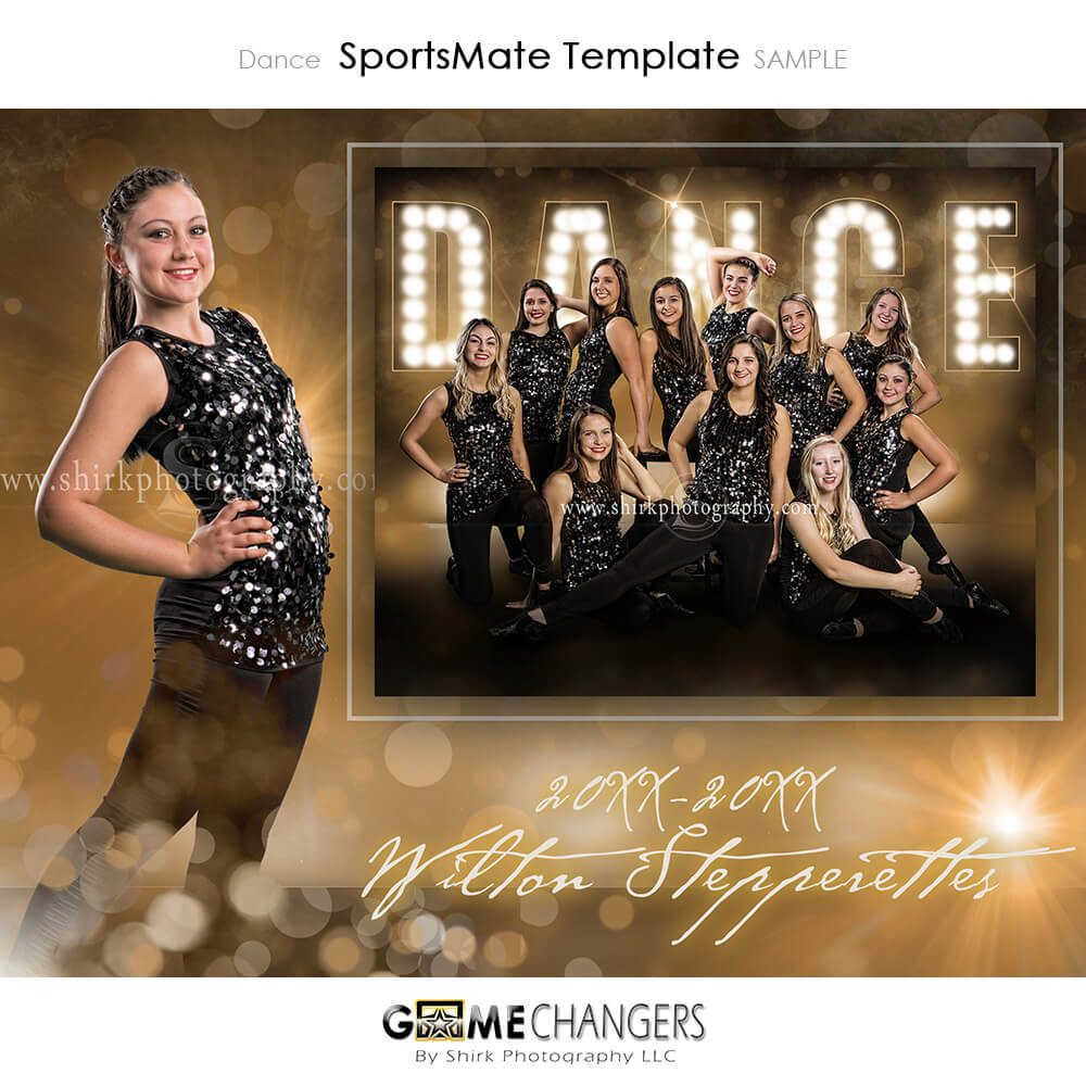 Dance Photoshop Template Tutorial Game Changers By Shirk Photography Llc