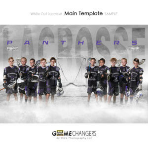lacrosse team poster photoshop template