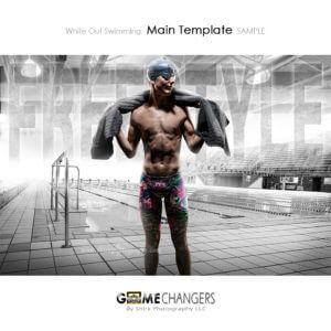 swim individual photoshop digital background white out