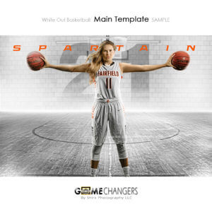 basketball poster senior photoshop template